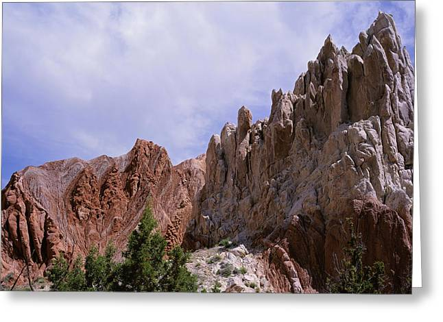 Cottonwood Spires 2 Greeting Card