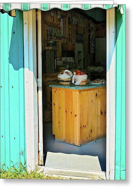 Greeting Card featuring the photograph Country Store by Tatiana Travelways