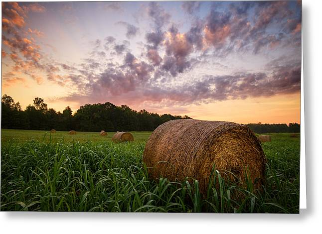 Greeting Card featuring the photograph Country Sunrise by Mark Guinn