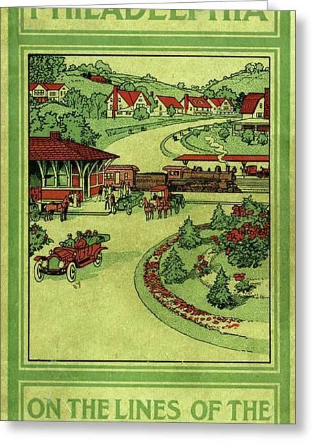 Cover Of Thirty Miles Around Philadelphia Greeting Card
