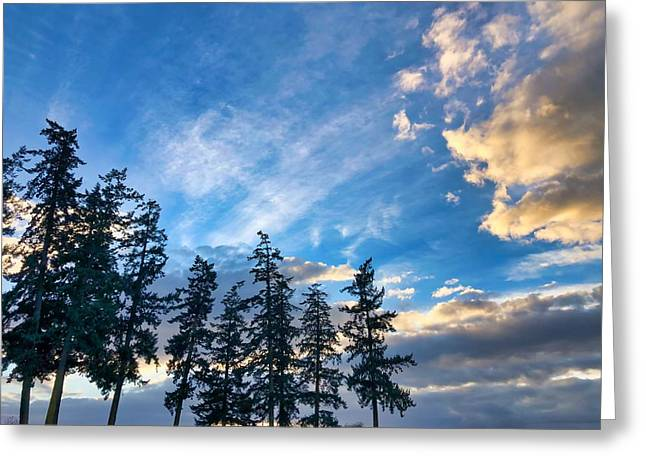 Crisp Skies Greeting Card