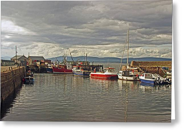 Cromarty. The Harbour. Greeting Card