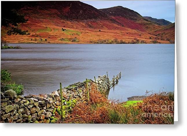 Crummock Water - English Lake District Greeting Card