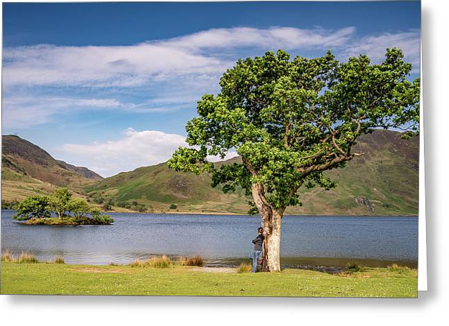 Crummock Water View Greeting Card