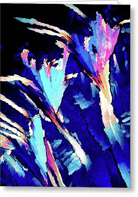 Crystal C Abstract Greeting Card