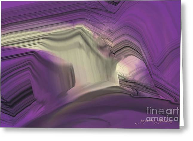 Crystal Journey Greeting Card