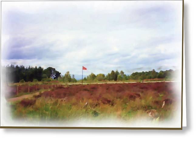 Culloden Battlefield Painting Greeting Card
