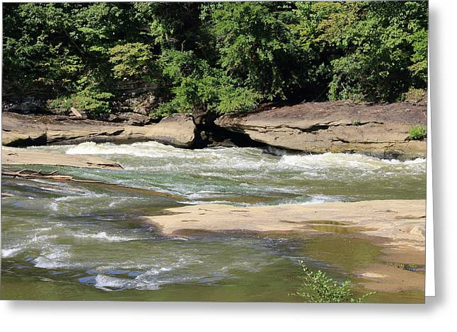 Greeting Card featuring the photograph Cumberland River by Angela Murdock