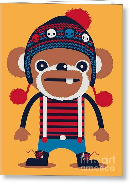 Cute Animal Design Greeting Card
