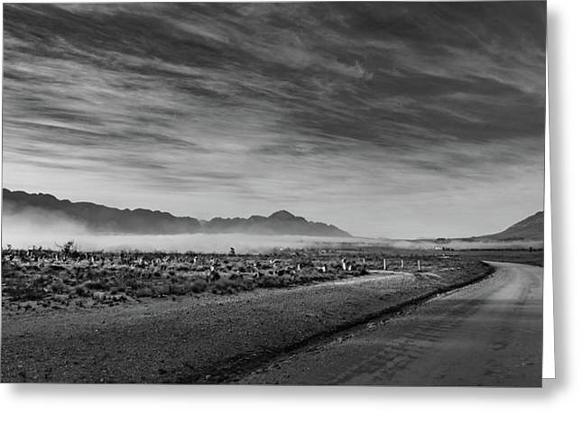 D1101 - Tulbagh Landscape Greeting Card