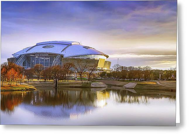 Dallas Cowboys Stadium Arlington Texas Greeting Card