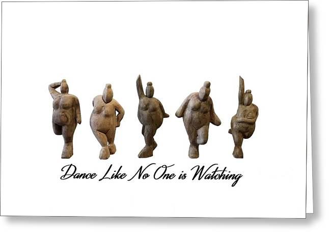 Venus - Dancing Crones Greeting Card