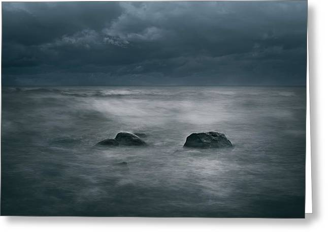 Dark And Stormy Greeting Card