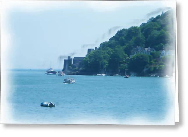 Dartmouth Castle Painting Greeting Card