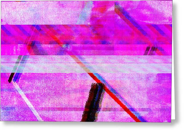 Databending #1 Greeting Card