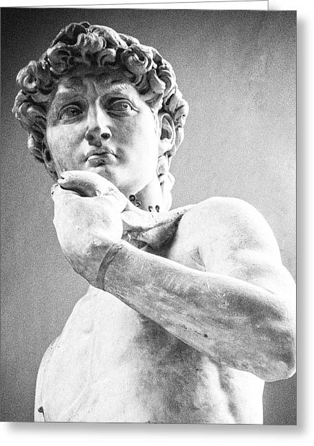 David Of Michelangelo Greeting Card