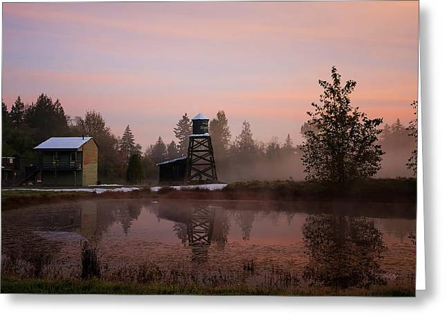 Greeting Card featuring the photograph Dawning Of A New Day - Hope Valley Art by Jordan Blackstone