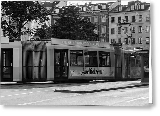 Day Tram Train Greeting Card