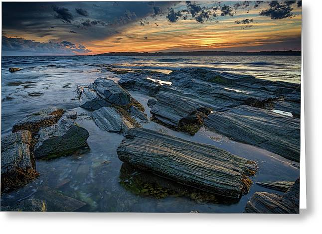 Day's End In Kettle Cove Greeting Card