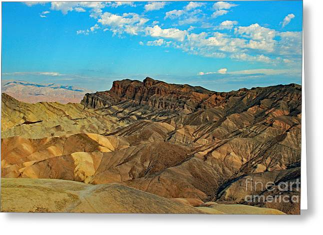 Death Valley, Ca Greeting Card