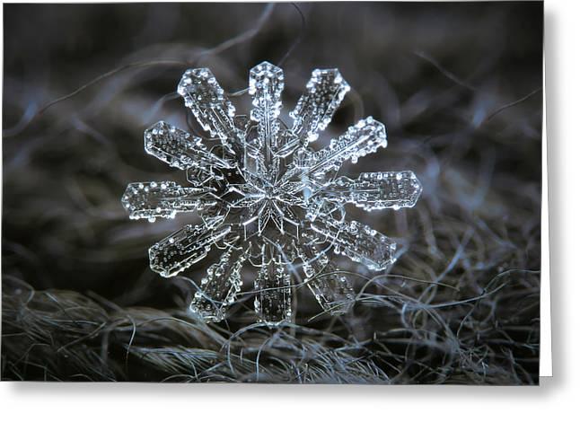 December 18 2015 - Snowflake 3 Greeting Card
