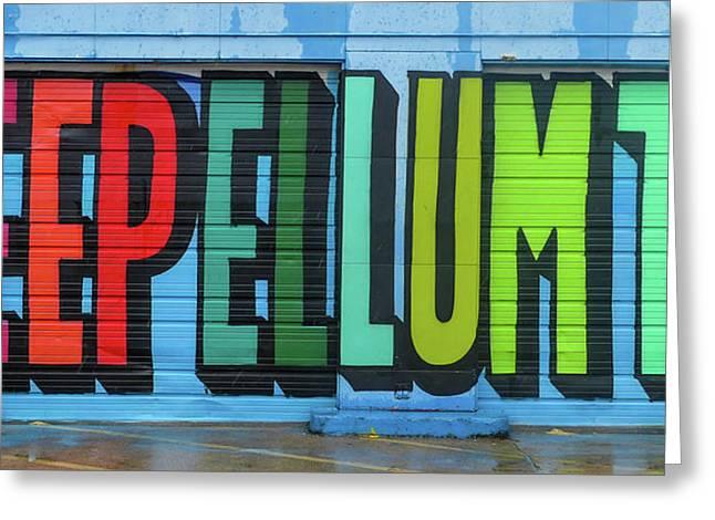 Deep Ellum Wall Art Greeting Card