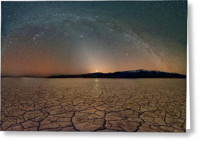Desert Night Greeting Card