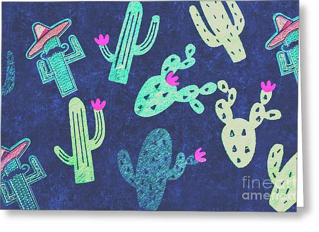 Desert Nights Greeting Card