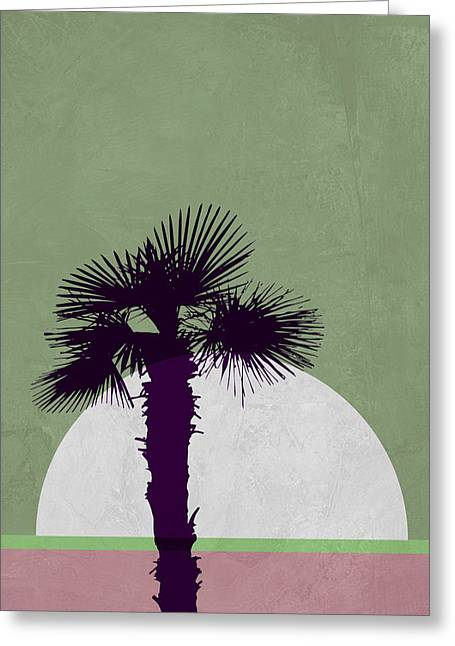 Desert Palm Tree Greeting Card