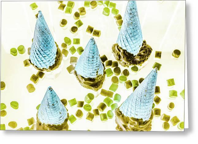 Desserted Greeting Card