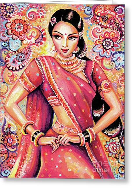 Devika Dance Greeting Card