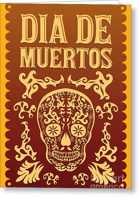 Dia De Muertos - Mexican Day Of The Greeting Card