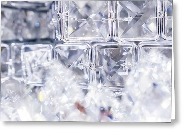 Diamond Shine Iv Greeting Card