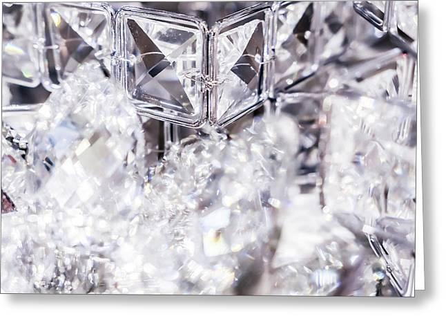 Diamond Shine V Greeting Card