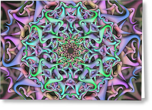 Dimension Object Remix Two Greeting Card