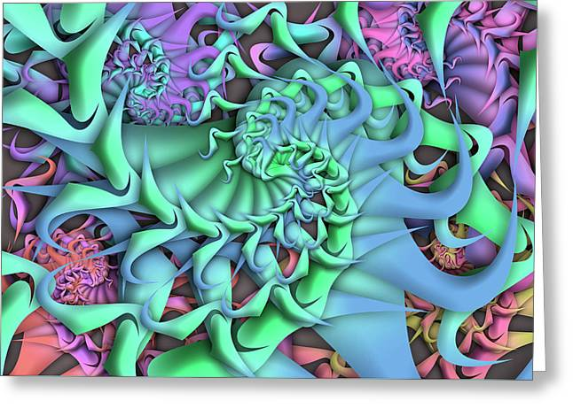 Dimension Remix Two Greeting Card