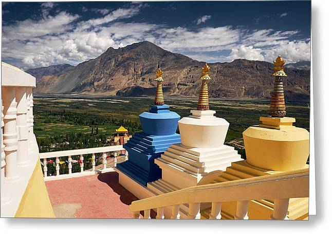 Diskit Gompa Greeting Card