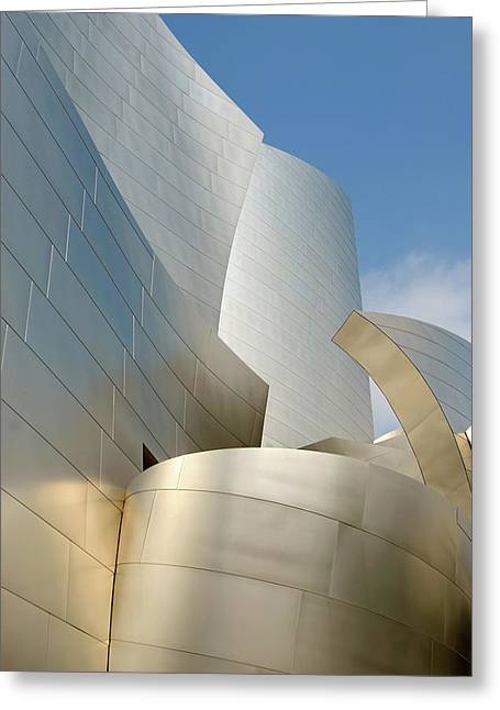 Disney Concert Hall Greeting Card