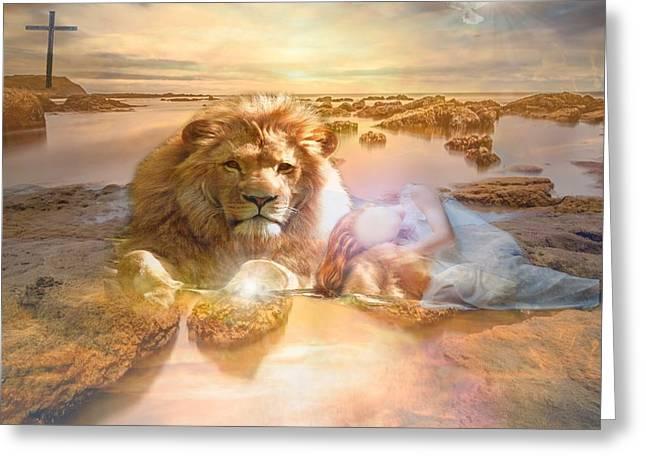Divine Rest Greeting Card