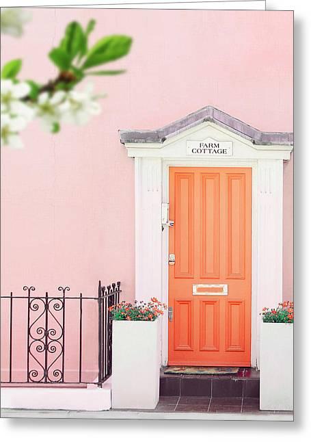 Door To Pastel Heaven Greeting Card