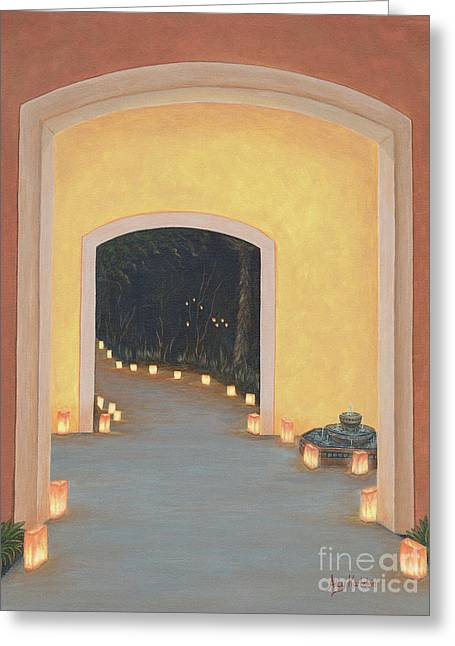 Doorway To The Festival Of Lights Greeting Card