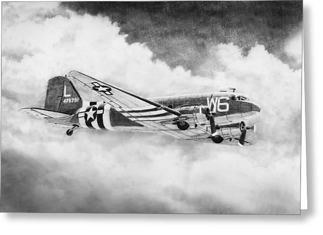 Douglas C-47 Greeting Card