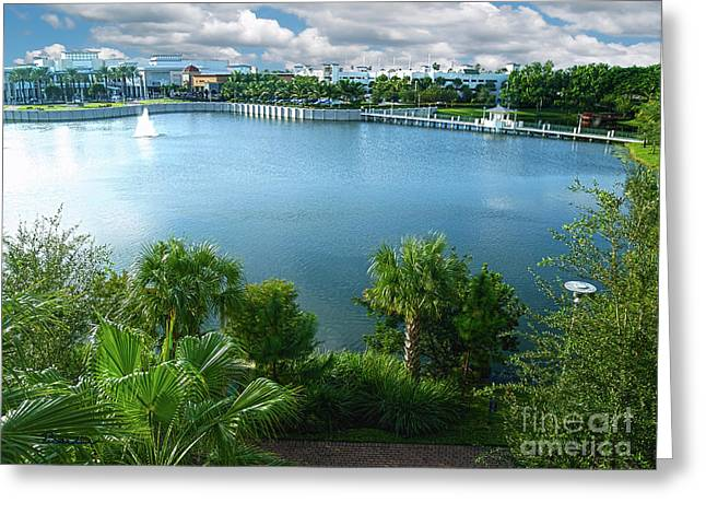 Downtown At The Gardens Mall Palm Beach Florida C2 Greeting Card