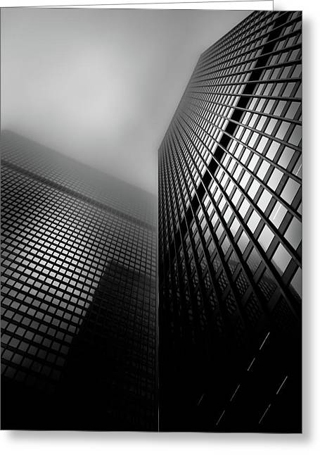 Downtown Toronto Fogfest No 27 Greeting Card