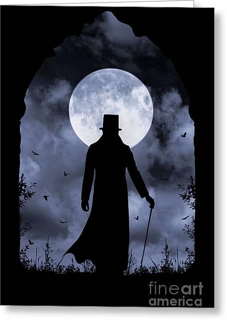 Dracula Returns Greeting Card