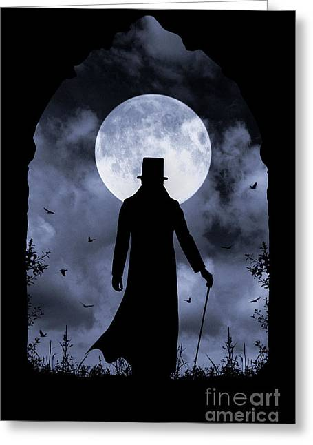 Dracula Returns Greeting Card
