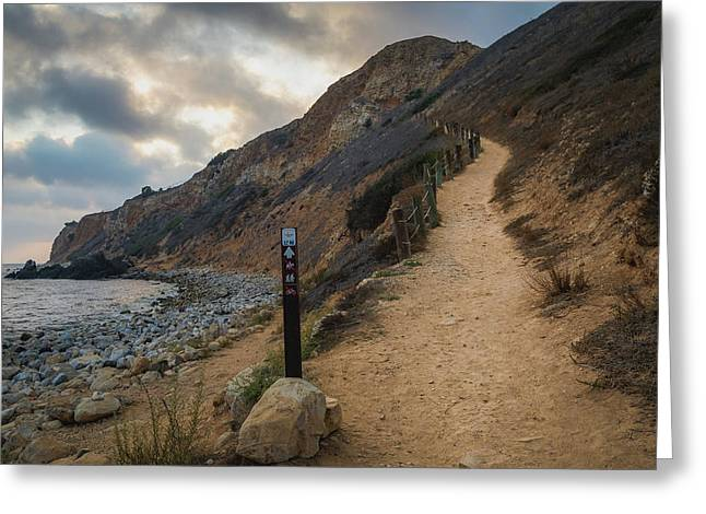 Dramatic Tovemore Trail Greeting Card