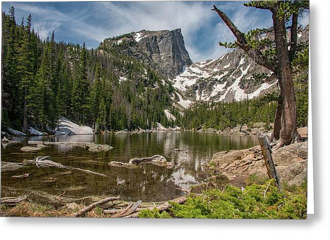 Dream Lake Greeting Card
