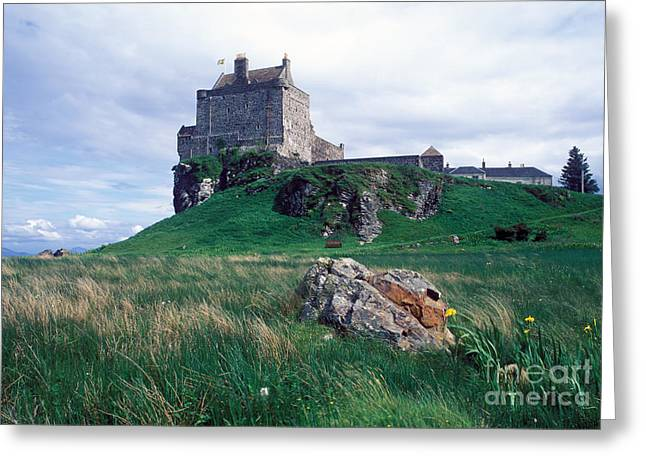 Duart Castle Home Of The Maclean Clan Greeting Card