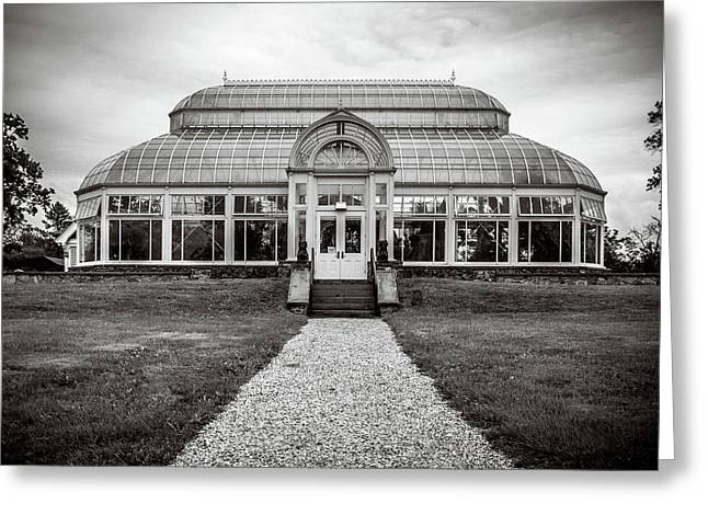Greeting Card featuring the photograph Duke Farms Conservatory by Steve Stanger